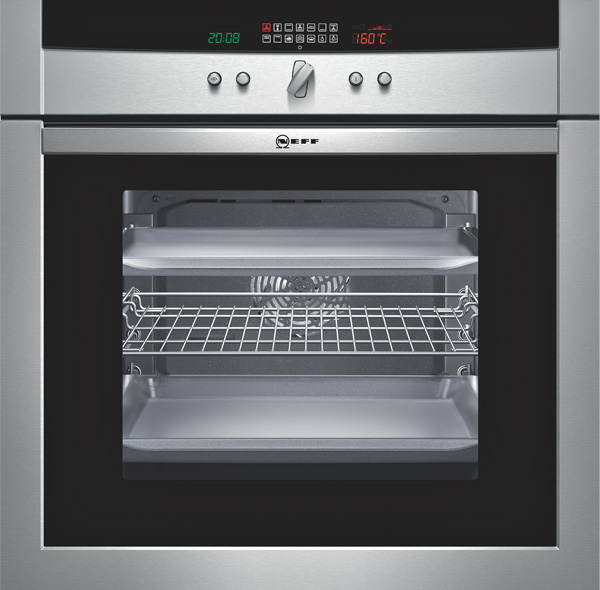 Neff b15e74n0 luxe oven met swing greep for Neff apparatuur