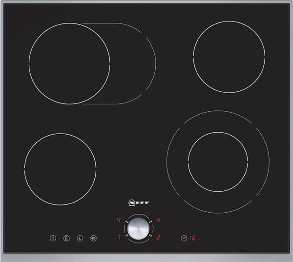 Neff t14t40n0 60cm brede keramische kookplaat met twistpad for Neff apparatuur