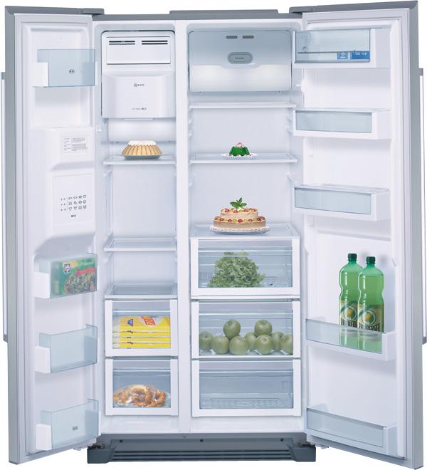 Amerikaanse Keuken Apparatuur : Neff energiezuinige Amerikaanse koelkast type K3970X7 met A+ label in