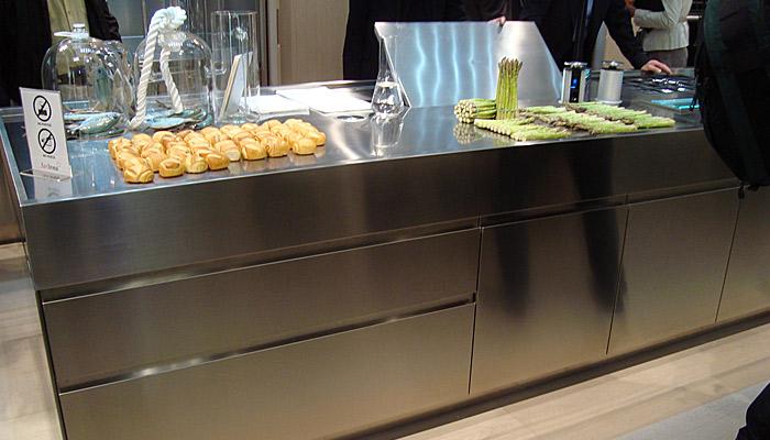 Roestvrij Stalen Keuken : Over italiaanse design keukens roestvrijstalen keukens
