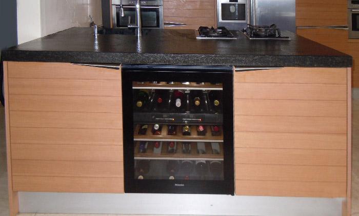357 - Model amerikaanse keuken ...