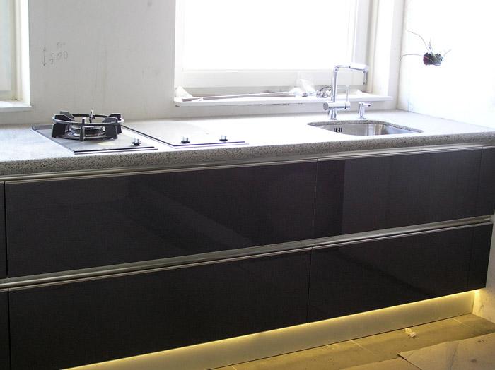 Snaidero keuken Idea hoogglans in appartementen complex ''De Dokke ...