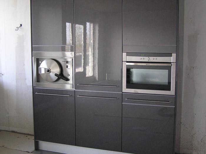 Compacte Keuken In Kast : In de hoge kasten van deze Snaidero keuken zijn de inbouw apparaten