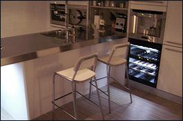 Snaidero concept store stijlvolle snaidero keukens italiaans design van topkwaliteit - Centraal eiland om te eten ...