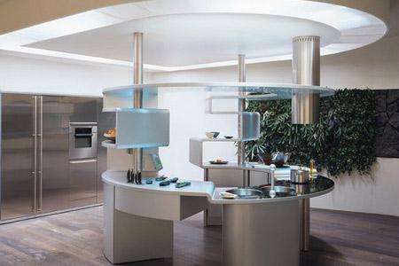 ... van de Snaidero Concept Store. Echt op-en-top Italiaans keuken design