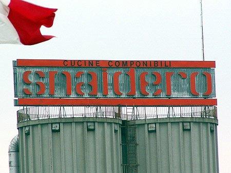 Snaidero fabriek te Majano (Noord Italië).
