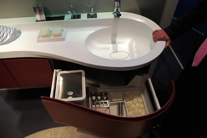 Snaidero concept store stijlvolle designkeukens italiaans design van topkwaliteit - Badkamers bassin italiaanse design ...