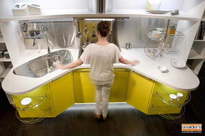 Blog over italiaanse design keukens snaidero keuken in for Snaidero skyline