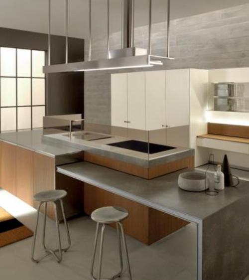 Keuken ideas eiland - Bar design keuken ...
