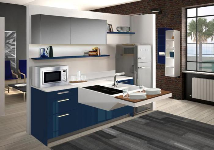 Italiaanse design keuken van Snaidero in model Board. Deze keuken is ...