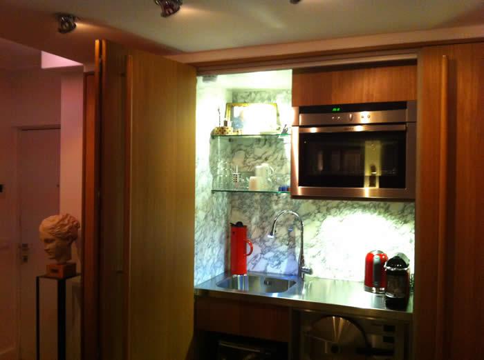 Italiaanse design keuken Snaidero te Bilthoven (Utrecht) / projekt 418