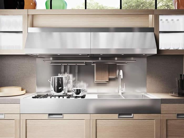 Witte Keuken Onderkast : Bij de Snaidero Lux is een nieuw type ...