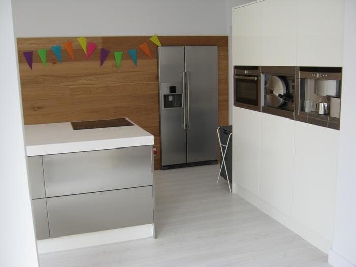 Project 502 een snaidero italiaanse designkeuken geplaatst in zandvoort - Wandbekleding keuken roestvrij staal ...
