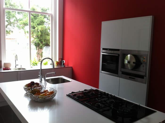 Italiaanse design keuken snaidero te zeeland projekt 562 - In het midden eiland keuken ...