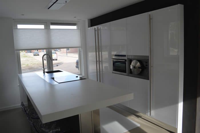 Witte Hoogglans Keuken Met Wit Blad : Witte Keuken Met Wit Blad : siematic s3 keuken