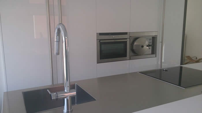 Inox design keukens - Douche italiaanse muur ...