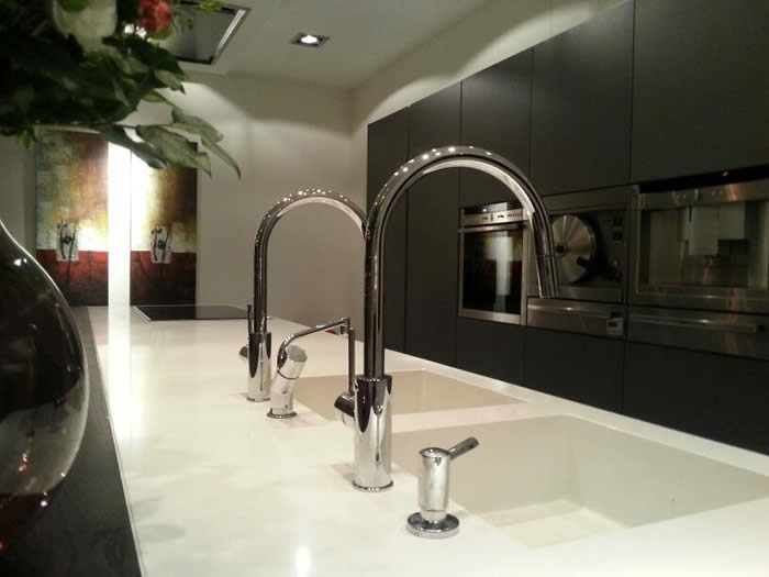 Werkbladen Keuken Corian : Italiaanse Design Keukens e.d.: Snaidero keuken project 608 opgeleverd