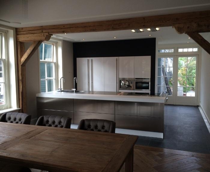 Italiaanse design keuken in Landsmeer / Amsterdam/ projekt 615
