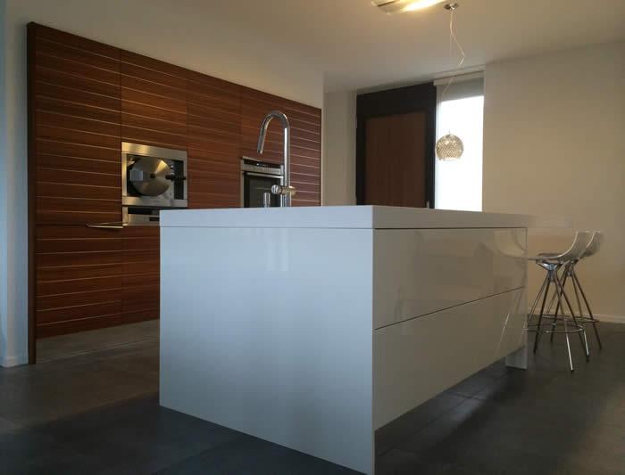 Wonderlijk Italiaanse design keuken Snaidero te Hooglanderveen / projekt 616 SC-18