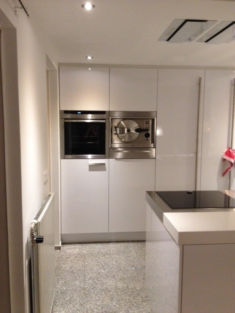Italiaanse design keuken in zeeland projekt 624 - Keuken witte lak ...