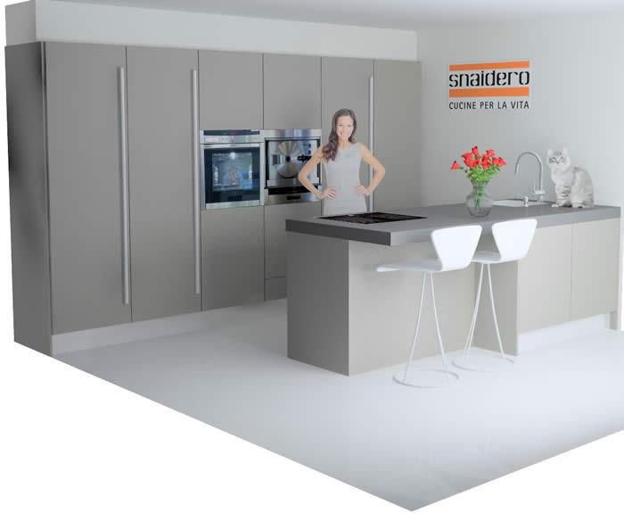 Italiaanse design keuken in Poortugaal projekt 625
