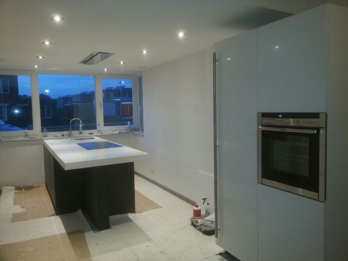 Keuken Renovatie Zeeland : Verlaagd Plafond Maken Keuken: Keuken spanplafonds plameco vakbedrijf