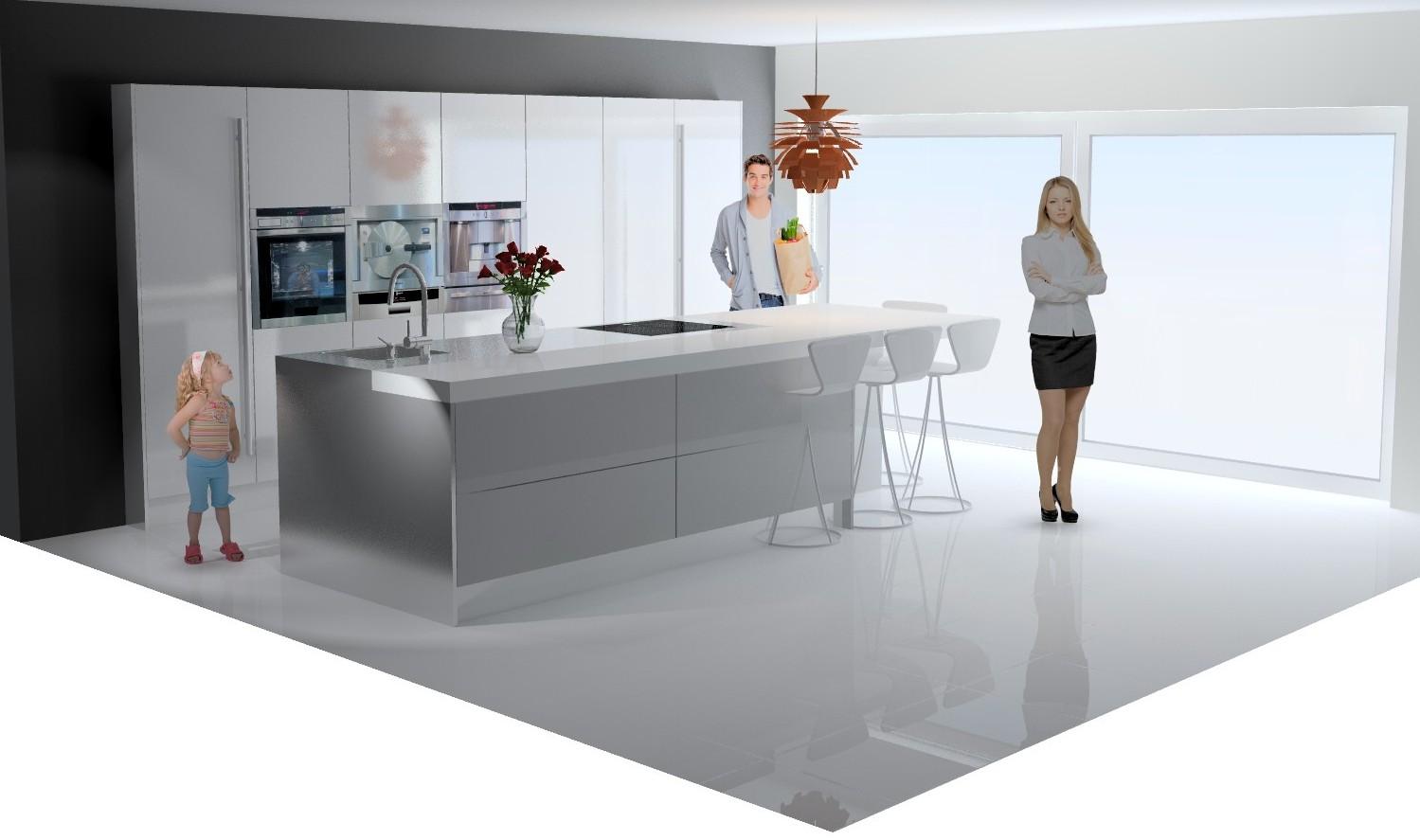 Design Keuken Duitsland : Italiaanse design keuken in Duitsland ...