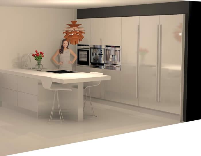 Keuken Aanrecht Corian : over Italiaanse Design Keukens e.d.: Snaidero keuken in Heerhugowaard