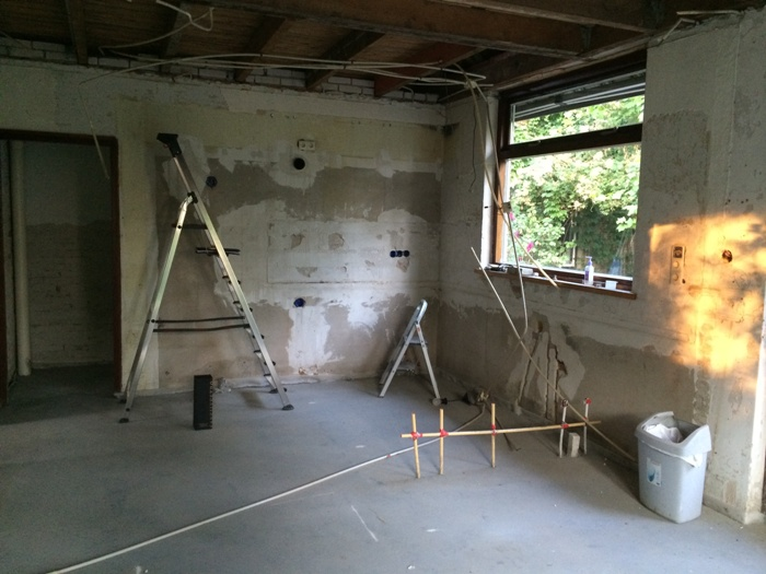 Snaidero keuken project 674 in rvs hoogglans lak - Keuken in het oude huis ...