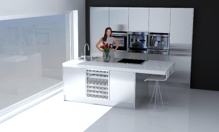 Keukens Ixina Lier : Italiaanse design keuken in de Lier projekt 677