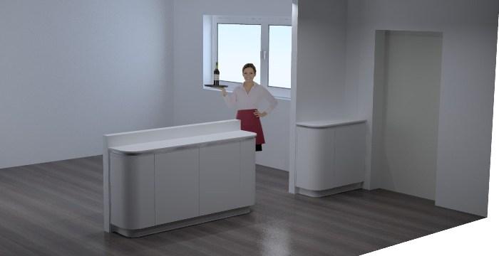 Keuken Design Den Haag : Tegenover de keuken komen er nog twee blokken ...