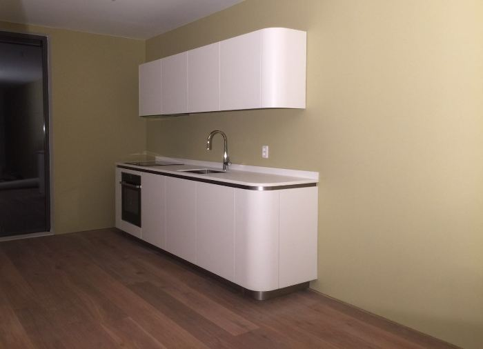Snaidero ola 20 keuken in amsterdam - Witte keuken voorzien van gelakt ...