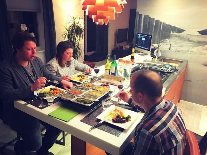Snaidero keuken in wolphaartsdijk - Centraal eiland om te eten ...