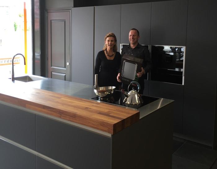 De klant heeft de S13 keuken opstelling uitgezocht voor in hun nieuwe huis in Amsterdam.