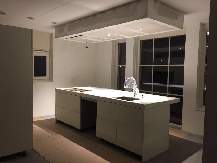 Glazen Achterwand Keuken Den Haag : Italiaanse design keuken geplaatst in Den Haag
