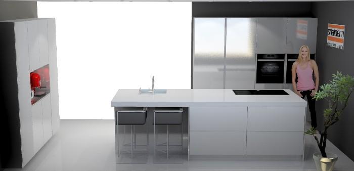 italiaanse design keuken geplaatst in den haag, Meubels Ideeën
