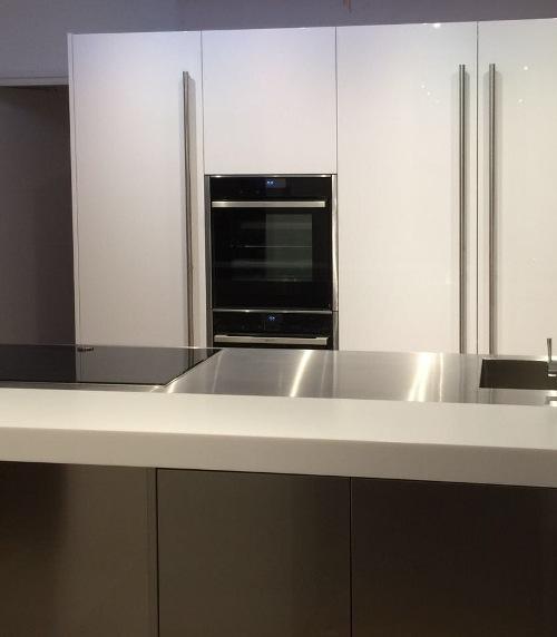 De keuken is gemonteerd door monteur Niklas.