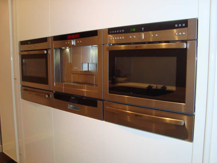 Keukenkasten Voor Inbouwapparatuur : De Neff inbouw apparaten zijn ...