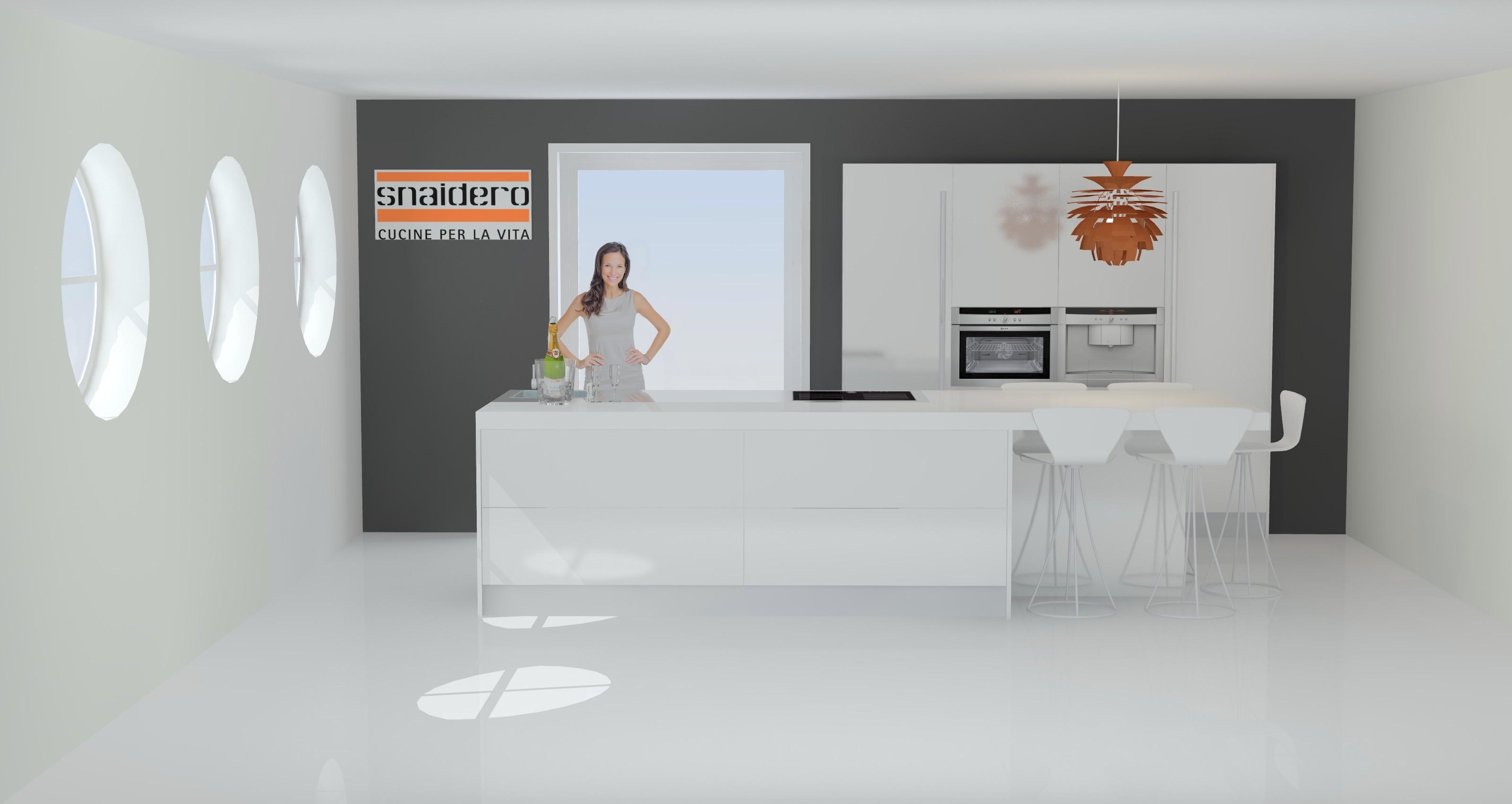 Hoogglans Keuken Of Niet : Keukenplan wit hoogglans lak