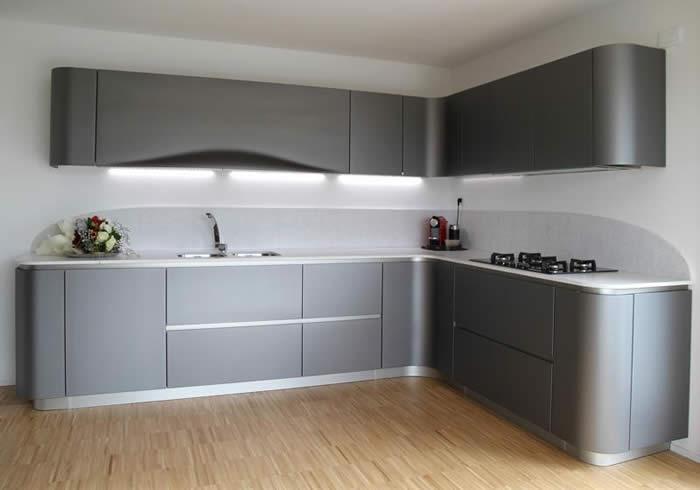 Keuken Antraciet Hoogglans : over Italiaanse Design Keukens e.d.: Snaidero Ola 20 keuken bij klant