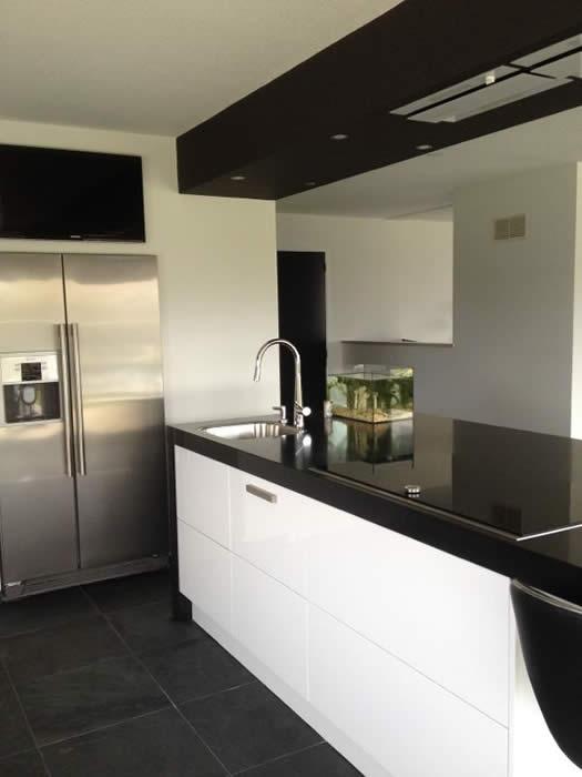 Keuken Met Amerikaanse Koelkast : Project 555, een snaidero Italiaanse designkeuken geplaatst in Zeeland