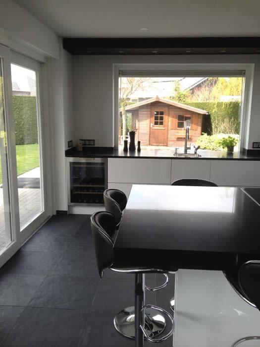 Raam keuken idee eiland gehoor geven aan uw huis - Winkel raam keuken ...