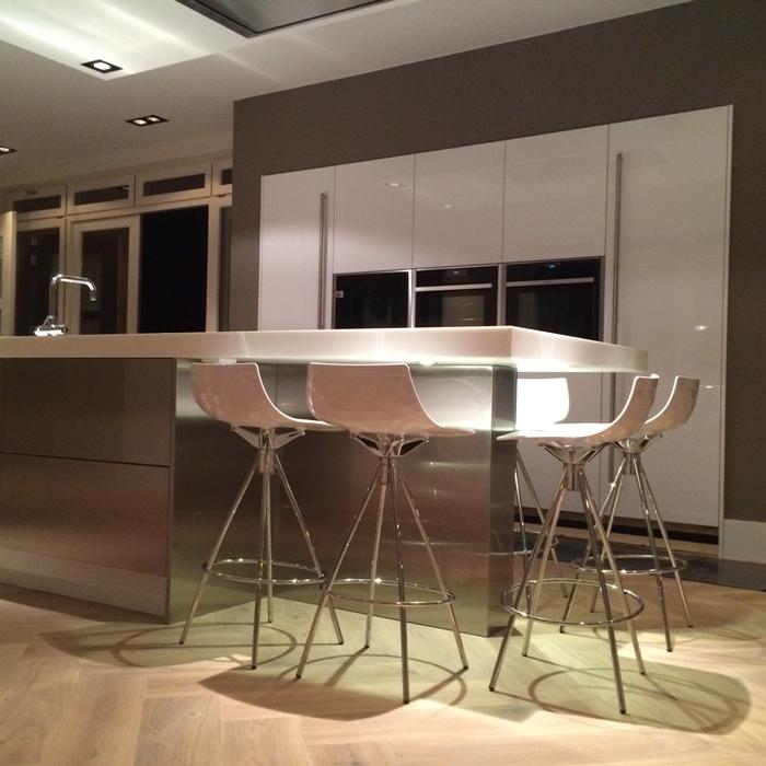 ... design keuken van Snaidero hebben we geplaatst in Eindhoven