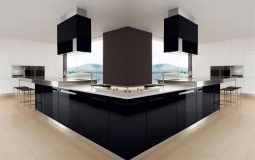 Rudy s blog over italiaanse design keukens e d creatief met italiaans design - Centraal koken eiland ...