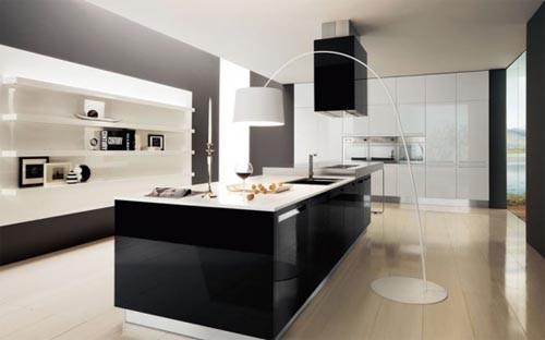 Design Lampen Voor Keuken : Zwart wit keuken zwarte en witte kleuren ...
