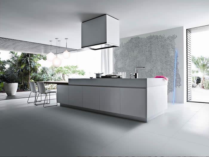 Keuken Met Eiland En Tafel : blog over Italiaanse Design Keukens e.d.: Keukentafel voor woonkeuken