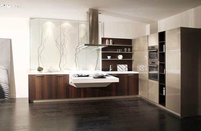 Rudy s blog over italiaanse design keukens e d foto s snaidero keuken van type board - Foto grijze keuken en hout ...