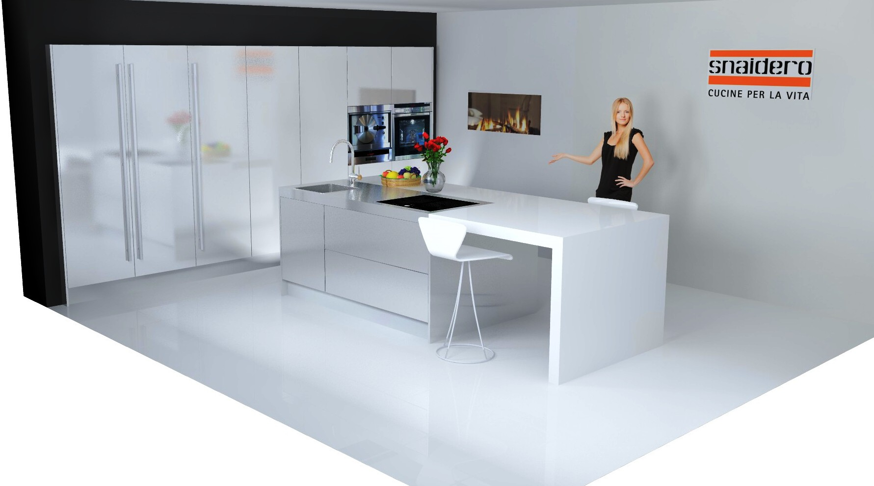 Inox Design Keukens : Snaidero concept store stijlvolle designkeukens italiaans