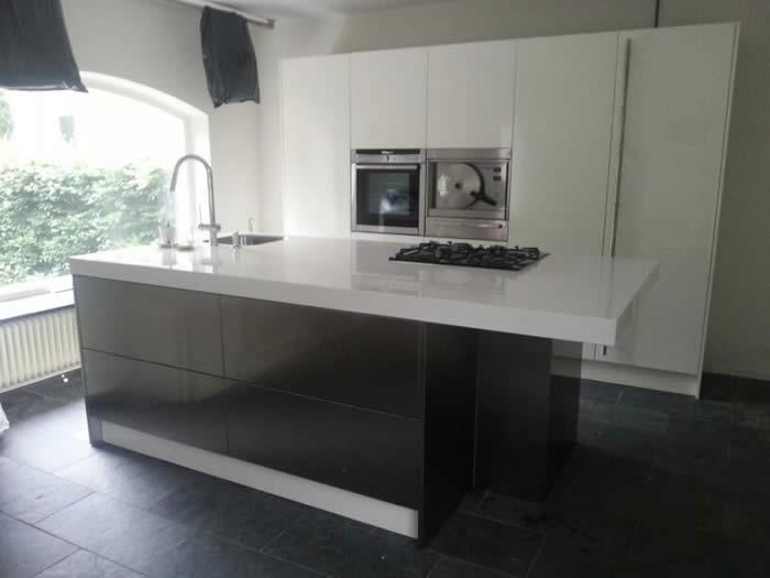 Design Wandtegels Keuken : Italiaanse design keuken Snaidero te Venray projekt 606