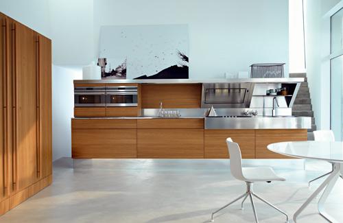 De Snaidero Kube keuken naar ontwerp van Giovanni Offredi.